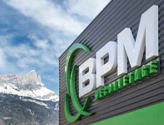 Enseigne BPM Decolletage